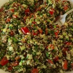 Quinoa Tabbouleh – Vegetables