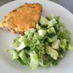 Green Salad with Frittata